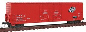 Atlas 53 Double Plug-Door Boxcar Chicago & North Western N Scale Model Train Freight Car #50001408