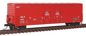 Atlas Evans 53 Double Plug-Door Boxcar US Railway Leasing N Scale Model Train Freight Car #50001417