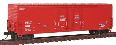Atlas Evans 53 Double Plug-Door Boxcar US Railway Leasing N Scale Model Train Freight Car #50001418