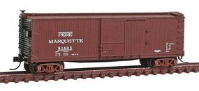 Atlas USRA Double-Sheathed Boxcar Pere Marquette #81605 N Scale Model Train Freight Car #50001482