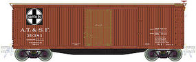 Atlas USRA Double-Sheathed Boxcar Santa Fe #39381 N Scale Model Train Freight Car #50001493