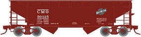 Atlas 2-Bay Offset-Side Hopper CMO N Scale Model Train Freight Car #50001636