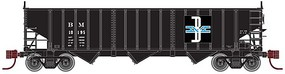 Atlas Pullman-Standard PS-2750 3-Bay Hopper Boston & Maine N Scale Model Train Freight Car #50001661