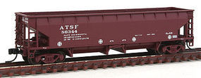 Atlas 70 Ton Ballast Car ATSF #86344 N Scale Model Train Freight Car #50001693