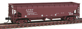 Atlas 70 Ton Ballast Car ATSF #86420 N Scale Model Train Freight Car #50001694