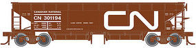 Atlas 70-Ton Hart Ballast Car Canadian National #301194 N Scale Model Train Freight Car #50001696