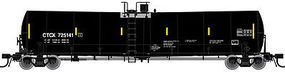 Atlas Trinity 25,500-Gallon Tank Car CIT Group CTCX N Scale Model Train Freight Car #50001717