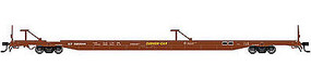89' Intermodal Flatcar Southern Pacific #520565 N Scale Model Train Freight Car #50001731