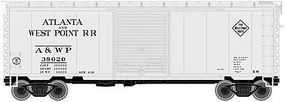 Atlas P-S PS-1 40 Boxcar 8 Door Atlanta & West Point RR N Scale Model Train Freight Car #50001760