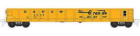 Atlas 52 Gondola Denver & Rio Grand Western #6023 N Scale Model Train Freight Car #50001917