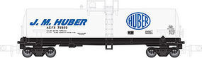 Atlas Kaolin Tank Car J.M. Huber #75880 N Scale Model Train Freight Car #50001958