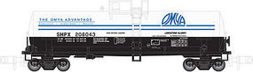 Atlas Kaolin Tank Car Omya #206039 N Scale Model Train Freight Car #50001965