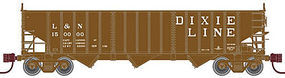 Atlas 2750 3-Bay Hopper Louisville & Nashville #150000 N Scale Model Train Freight Car #50001968