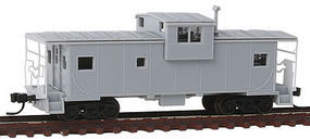 Atlas EV Caboose Undecorated without Roof walk N Scale Model Train Freight Car #50002033