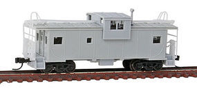Atlas EV Caboose Undecorated with Roof Walk N Scale Model Train Freight Car #50002034