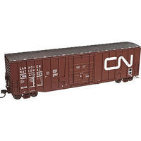 Atlas 50 Plug Door Boxcar Canadian National #413025 N Scale Model Train Freight Car #50002147