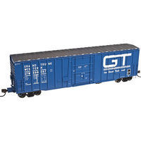 Atlas 50 Plug Door Boxcar Grand Trunk Western #598179 N Scale Model Train Freight Car #50002152