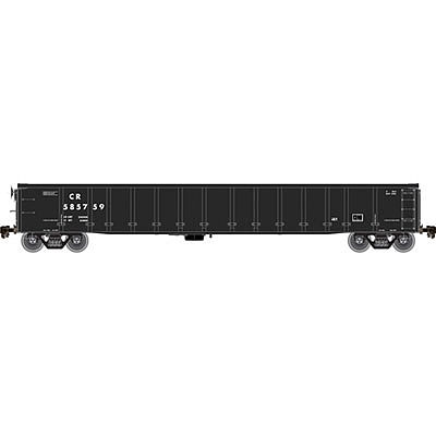 Atlas 2743 Gondola with No Cover Conrail 585725 N Scale Model Train Freight Car #50002202