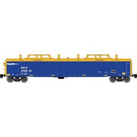 Atlas Gondola with Cover Republc 270222 N Scale Model Train Freight Car #50002217
