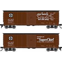 Atlas USRA Steel Boxcar ATSF #148847 N Scale Model Train Freight Car #50002333