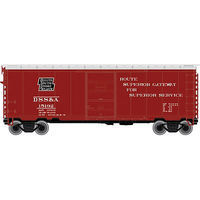 Atlas 40 PS-1 Box DSS&A #15192 N Scale Model Train Freight Car #50002348