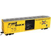 Atlas FMC 5077 Single Door Boxcar Rail Box #17756 N Scale Model Train Freight Car #50002414
