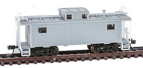 Atlas N NE-6 Caboose, Undecorated/NKP Style