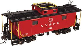 Atlas NE-6 Caboose NYSW #0117 N Scale Model Train Freight Car #50002516