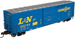 Atlas ACF 50 Boxcar Louisville & Nashville #102931 N Scale Model Train Freight Car #50002539