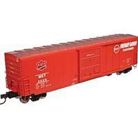 50' Pre Des Boxcar Missouri Kansas Texas #2022 N Scale Model Train Freight Car #50002540