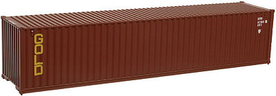 Atlas 40' Standard-Height Container Gold Container Set #1 -- N Scale Train Freight Car Load -- #50002947