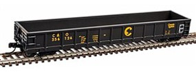 Atlas Evans 52 Gondola Chesapeake and Ohio #356356 N Scale Model Train Freight Car #50003038