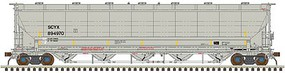 Atlas Trinity 5660 PD Covered Hopper - Ready to Run First Union SCYX #894938 - N-Scale