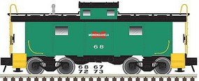 Atlas NE-6 Caboose - Ready to Run - Master(R) Monongahela Railway 67 (Jade Green, red, black) - N-Scale