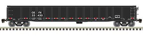 Atlas Thrall 2743 Covered Gondola - Ready to Run - Master(R) CIT Group - Capital Finance CEFX 33430 (Ex-CP, black, white, red) - N-Scale