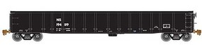 Atlas Thrall 2743 Covered Gondola - Ready to Run - Master(R) NS 193914 (black, reporting Marks Only) - N-Scale