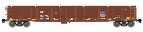 Atlas Thrall 2743 Covered Gondola - Ready to Run - Master(R) Union Pacific 152054 (Boxcar Red, yellow Conspicuity Marks) - N-Scale