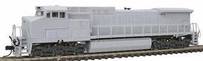 Atlas GE Dash 8-40CW Undecorated (ATSF Style) N Scale Model Train Diesel Locomotive #51901