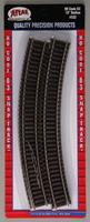 Atlas Code 83 18 Radius Track (6) HO Scale Nickel Silver Model Train Track #532