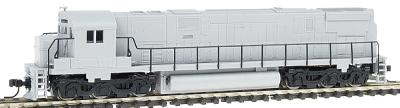 Atlas Alco C628 Phase 2B Undecorated -- N Scale Model Train Diesel Locomotive -- #54060