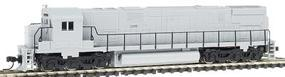 Atlas Alco C628 Phase 2B Undecorated N Scale Model Train Diesel Locomotive #54060