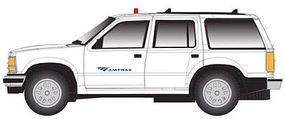 Atlas 1996 Ford(R) Explorer w/Rotary Beacon Amtrak N Scale Model Railroad Vehicle #60000071