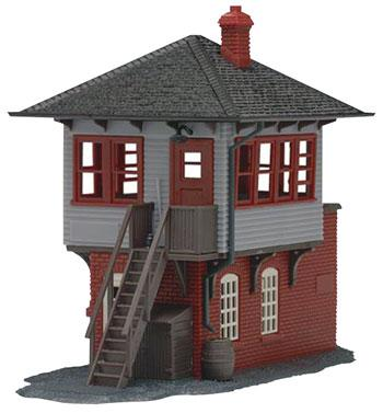 Atlas Signal Tower Built-Up HO Scale Model Railroad Building #604