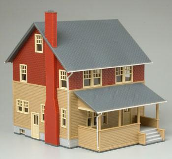 Kate S Colonial Home Assembled Ho Scale Model Railroad