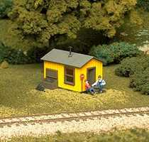 Atlas Trackside Shanty Kit HO Scale Model Railroad Building #702