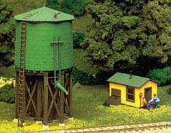 Atlas Water Tower Kit -- HO Scale Model Railroad Trackside Accessory -- #703
