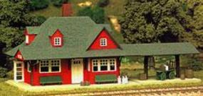 Passenger Station Kit HO Scale Model Railroad Building #706
