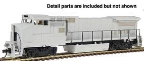 Atlas Silver Series GE Dash 8-40BW Undecorated HO Scale Model Train Diesel Locomotive #7241