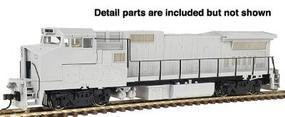 Atlas Silver Series Diesel GE Dash 8-32BWH Undecorated HO Scale Model Train Diesel Locomotive #7264