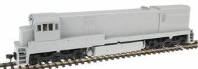 Atlas GE U30C Phase II Powered Undecorated HO Scale Model Train Diesel Locomotive #7302